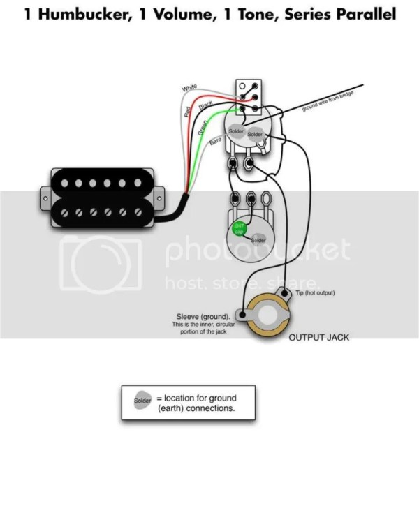 on 4 wire humbucker wiring diagram