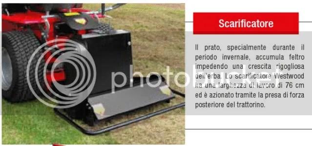 Trattorini rasaerba da giardino con presa di forza presa di potenza PTO pdp accessori  Un
