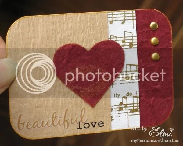 'Beautiful Love' ATC
