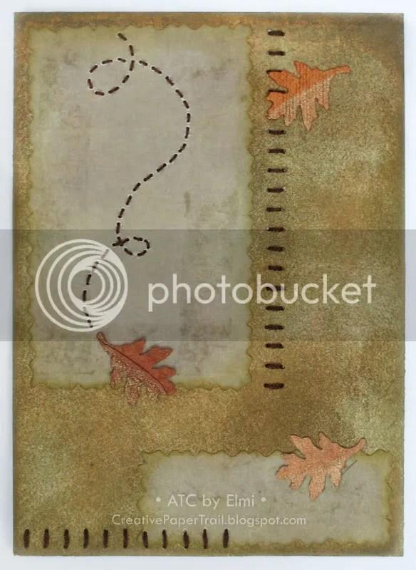 'Autumn' ATC
