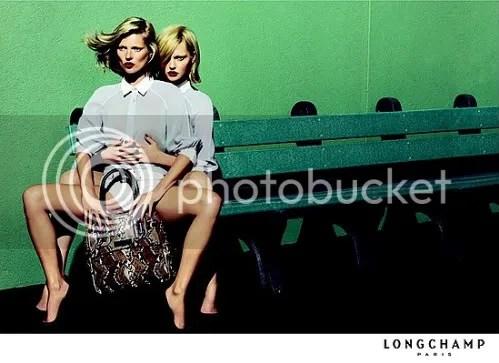 Longchamp SS09 - the model heimlich