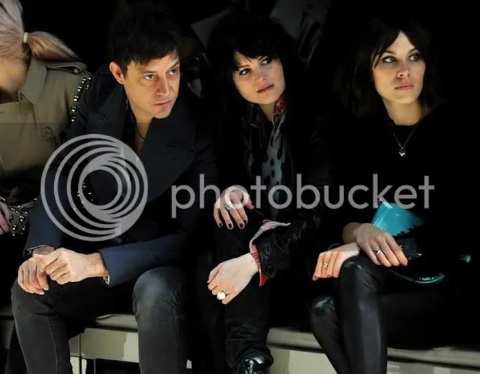 Jamie Hince, Alison Mosshart & Alexa Chung