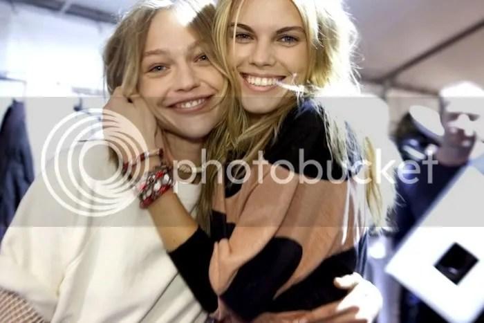 Sasha Pivovarova & Maryna Linchuk