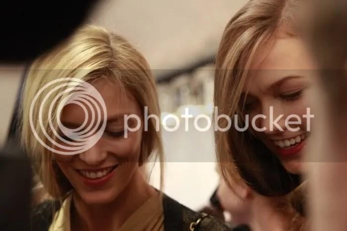 Anja Rubik & Karlie Kloss