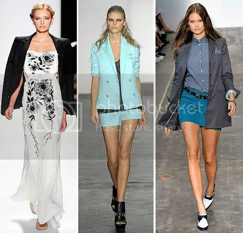 Looks from Carolina Herrera, Alexander Wang and Rag & Bone SS09