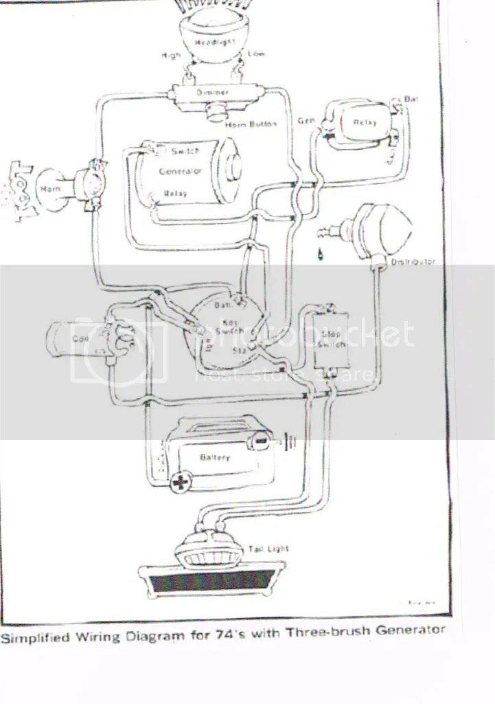 An actual wiring diagram