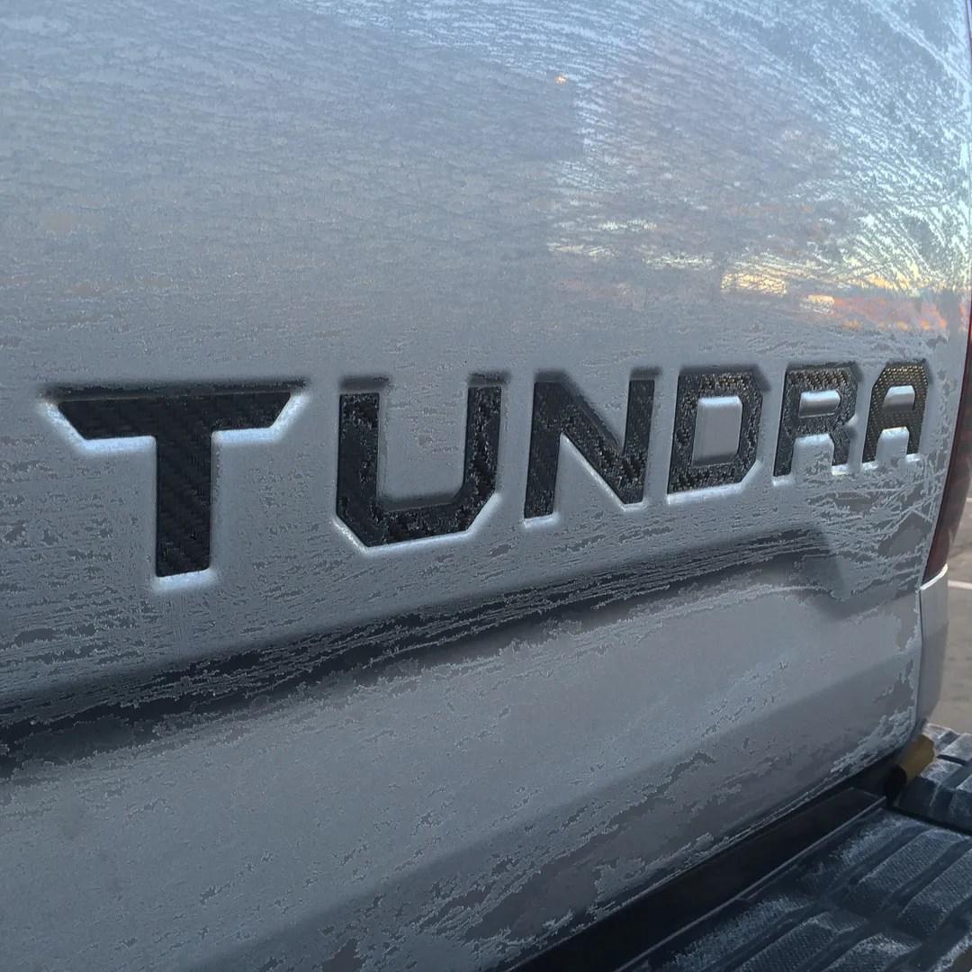 2015 Tundra Tailgate Letter Insert  TundraTalknet