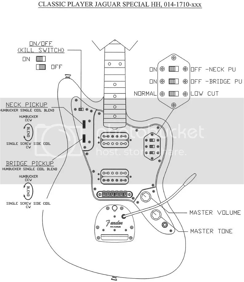 Jazz Bass Wiring Diagram 4 Pots