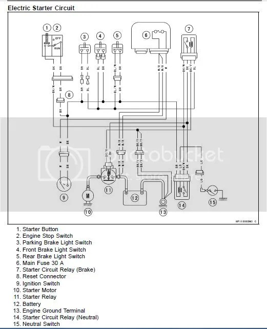 2006 Kawasaki Brute Force 650 Wiring Diagram : 44 Wiring