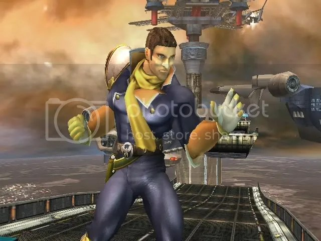 Helmetless Captain Falcon 1