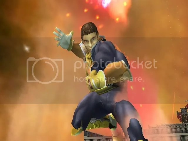 Helmetless Captain Falcon 3