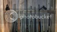 Barnwood Gun Cabinet - Missouri Whitetails