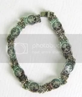 info about vintage Siam silver niello jewelry