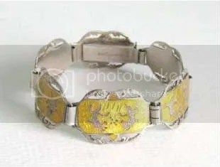 guide about vintage Siam silver niello jewellery