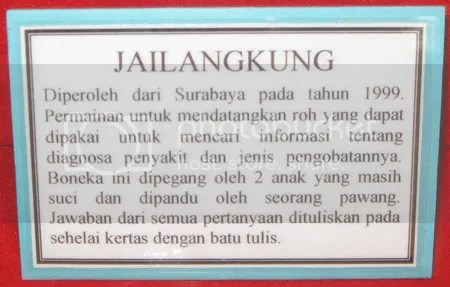 About Jailangkung