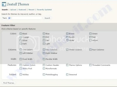 install Themes