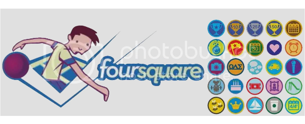 Foursquare Badge List, daftar badge foursquare, cara mendapatkan badge foursquare