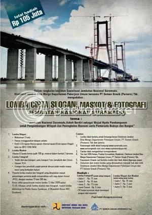 Poster Lomba Suramadu