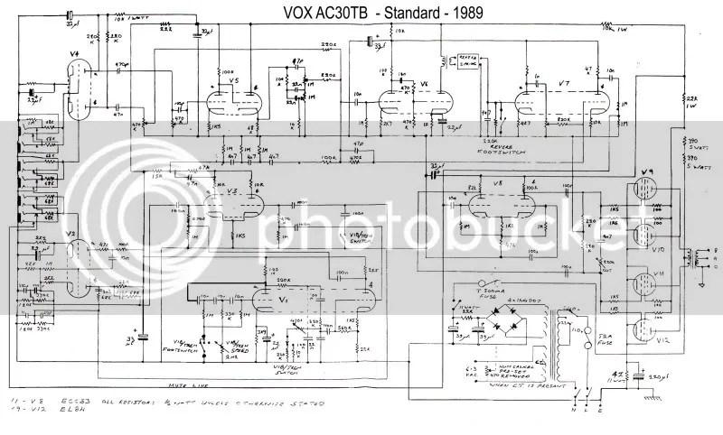 Vox Ac10 Schematic Bogner Schematic ~ Elsavadorla
