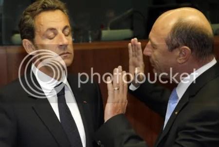 Sarko vs Basescu
