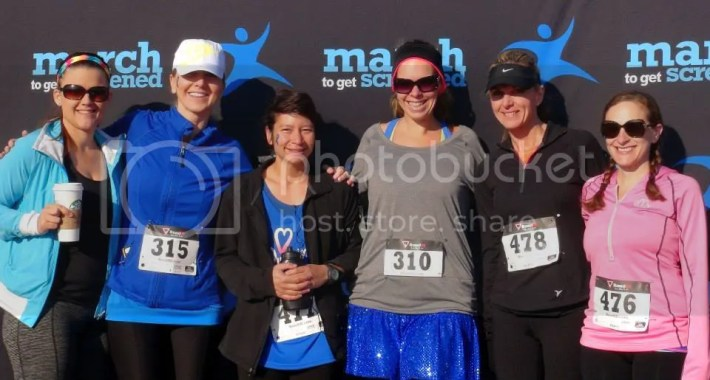 2015 march to get screened 5K