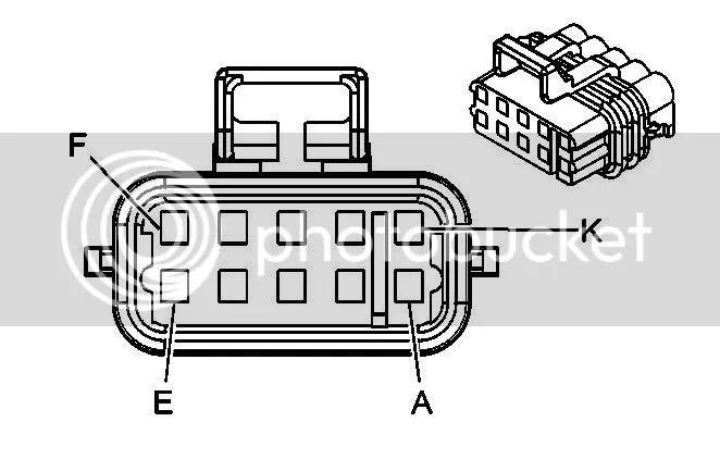 Chevrolet Accelerator Pedal Position Sensor Connector