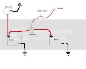 Dual battery wiring  Ford Truck Enthusiasts Forums