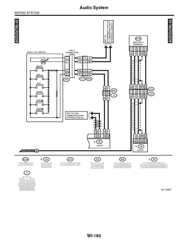 Subaru Impreza Factory Radio Wiring Diagram : 43 Wiring