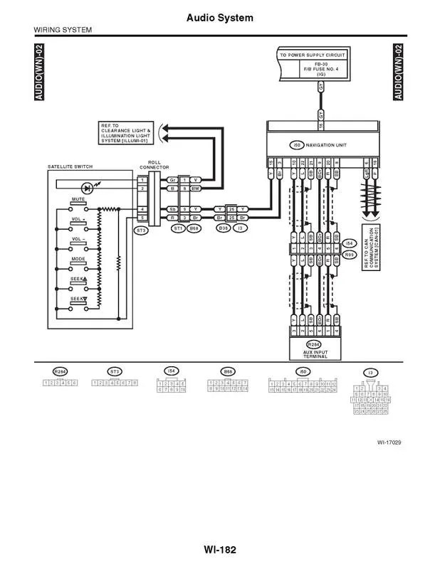 Wiring Diagram For 2002 Subaru Outback