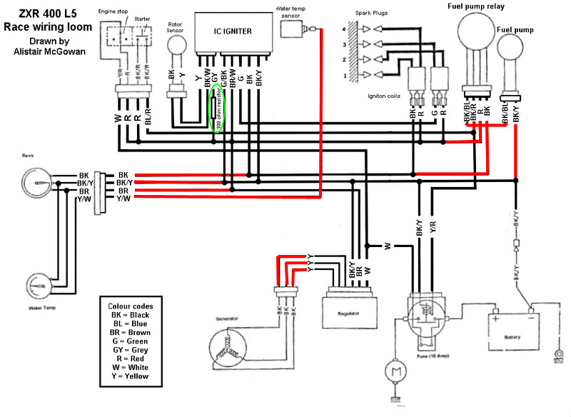 Wiring Diagram 139fmb Mini Chopper. Mini Cooper. Wiring