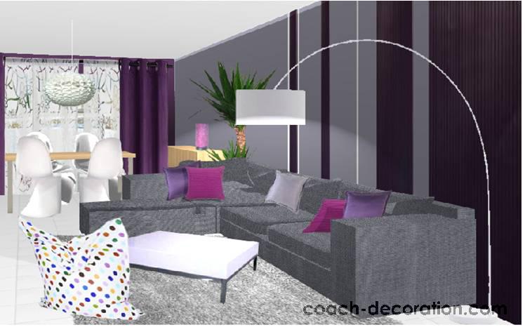 Salon Marron Glace - Idées de décoration d\'intérieur - aloeveras.us