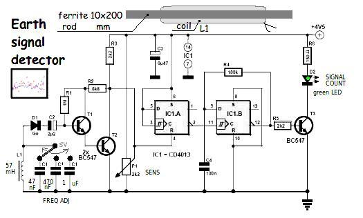 gold detector circuit diagram sahara desert food web my new ferrite lrl - longrangelocators forums