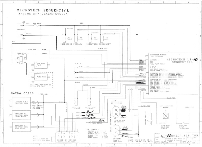 Questions About Lt10 Wiring Diagram? RX7Club Com Mazda RX7 Forum