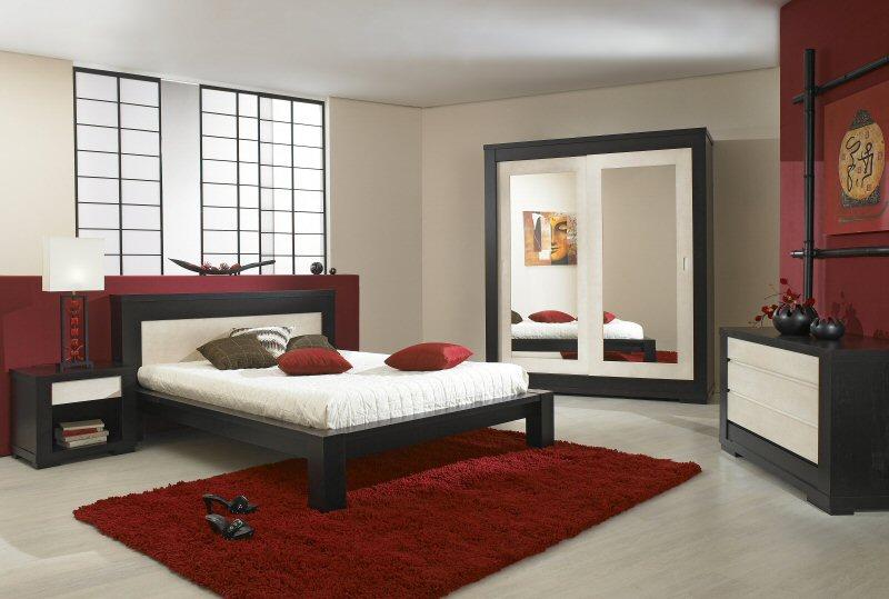 Chambre Taupe Rouge - Décoration de maison idées de design d ...