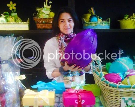 Oana Niculescu Mizil,Chocolateria Cade,Paste 2010