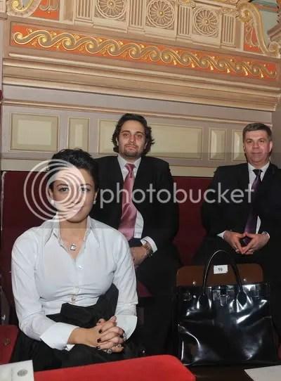Oana Niculescu Mizil si Ion Iliescu