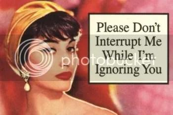 ignoring you photo