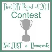 Best DIY Project of 2011 Contest - Not JUST A Simple Housewife