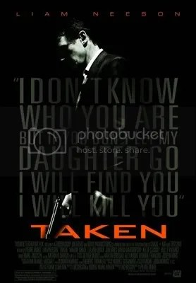 Liam Neeson Taken - Movie Poster