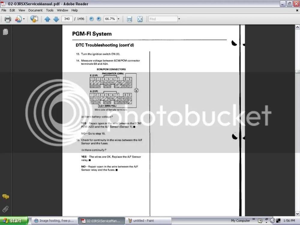 medium resolution of acura rsx o2 sensor wiring diagram
