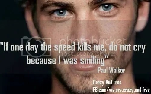 Paul Walker Speed Quote