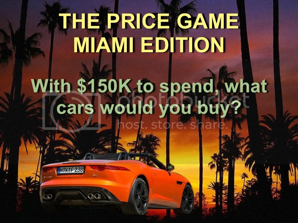 The Price Game Miami Edition