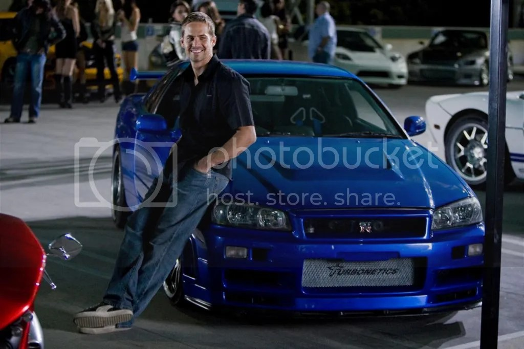 Paul Walker Nissan Skyline