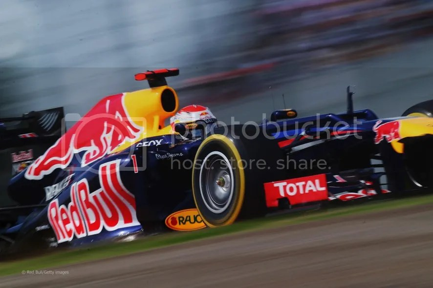 Sebastian Vettel in Formula One