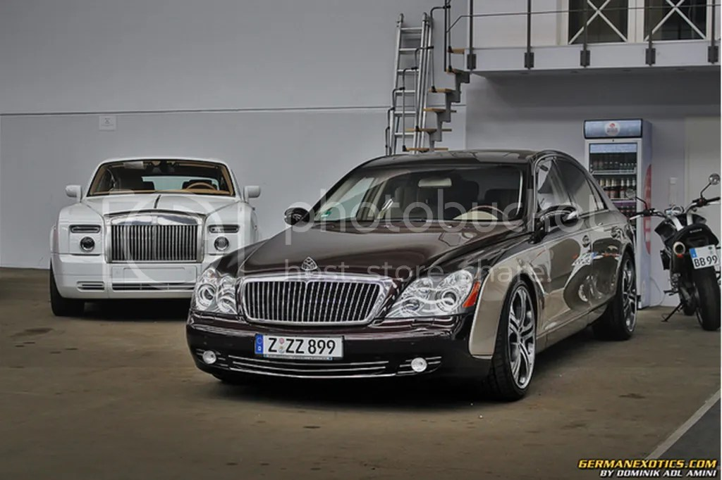 Maybach and Rolls Royce