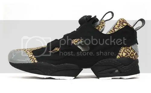 e0c6afcad4f2bd Along with the cheetah print comes patent gray leather and black  foot-encapsulating air bladder ...