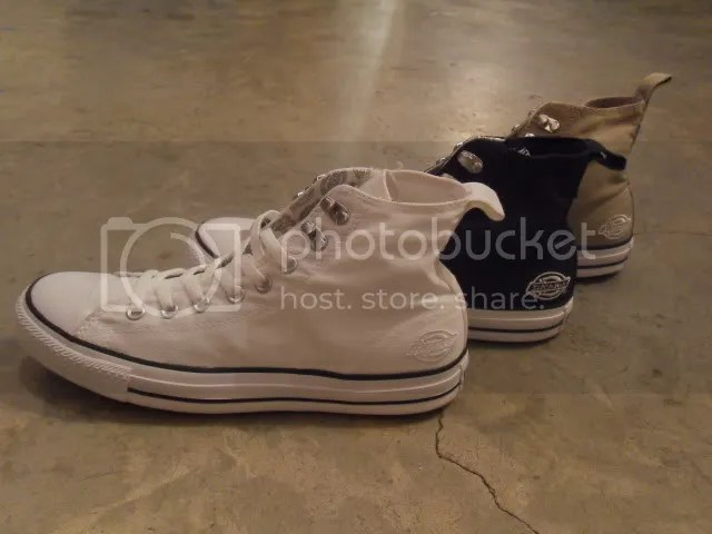 065faddf1550 Converse Chuck Tylor All Star hi x Dickies White Size 9 (New Without Box)  Converse Chuck Tylor All Star hi x Dickies Navy Size 9 (New Without Box)