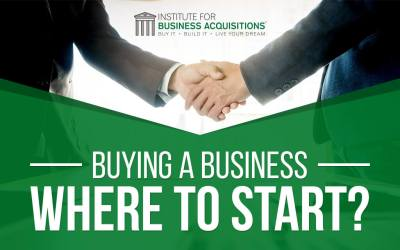 Buying a Business – Where to Start?