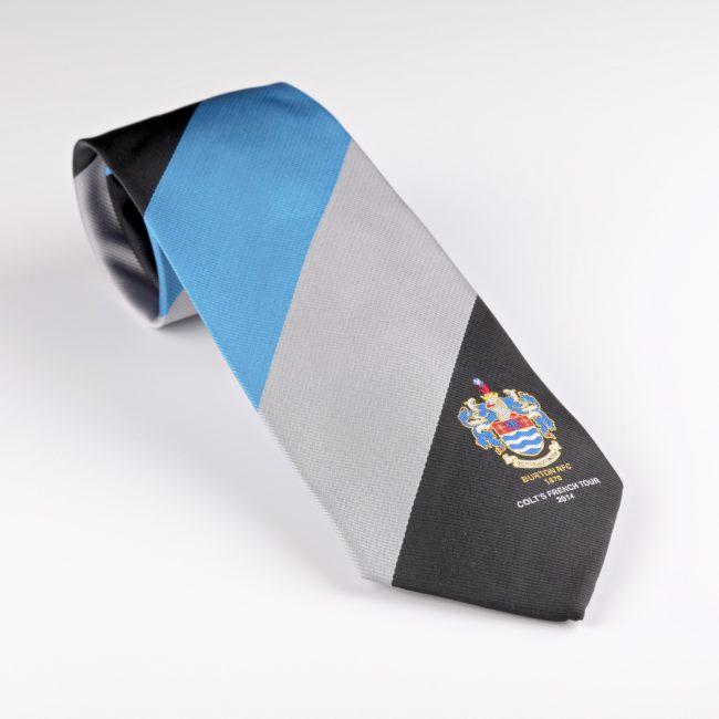 custom ties, personalised ties, bespoke ties, golf club ties