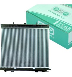 radiator for range rover p38 automatic 2 5 turbo diesel bmw m51 engine pcc108470 on onbuy [ 990 x 990 Pixel ]
